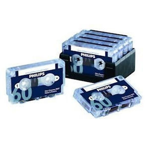 Philips LFH0007 Mini Cassette (Pack of 10)